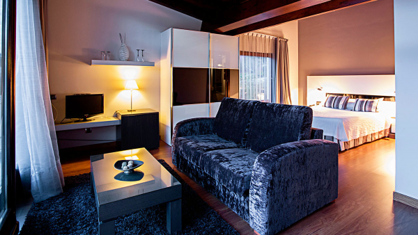 Habitaciones confortables, hotel boutique
